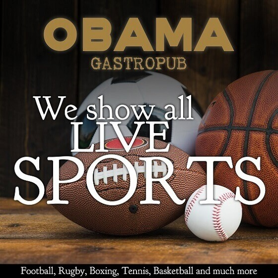 Obama Live sports pub barcelona
