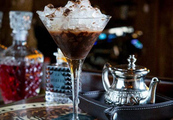 Cocktel martini cafe