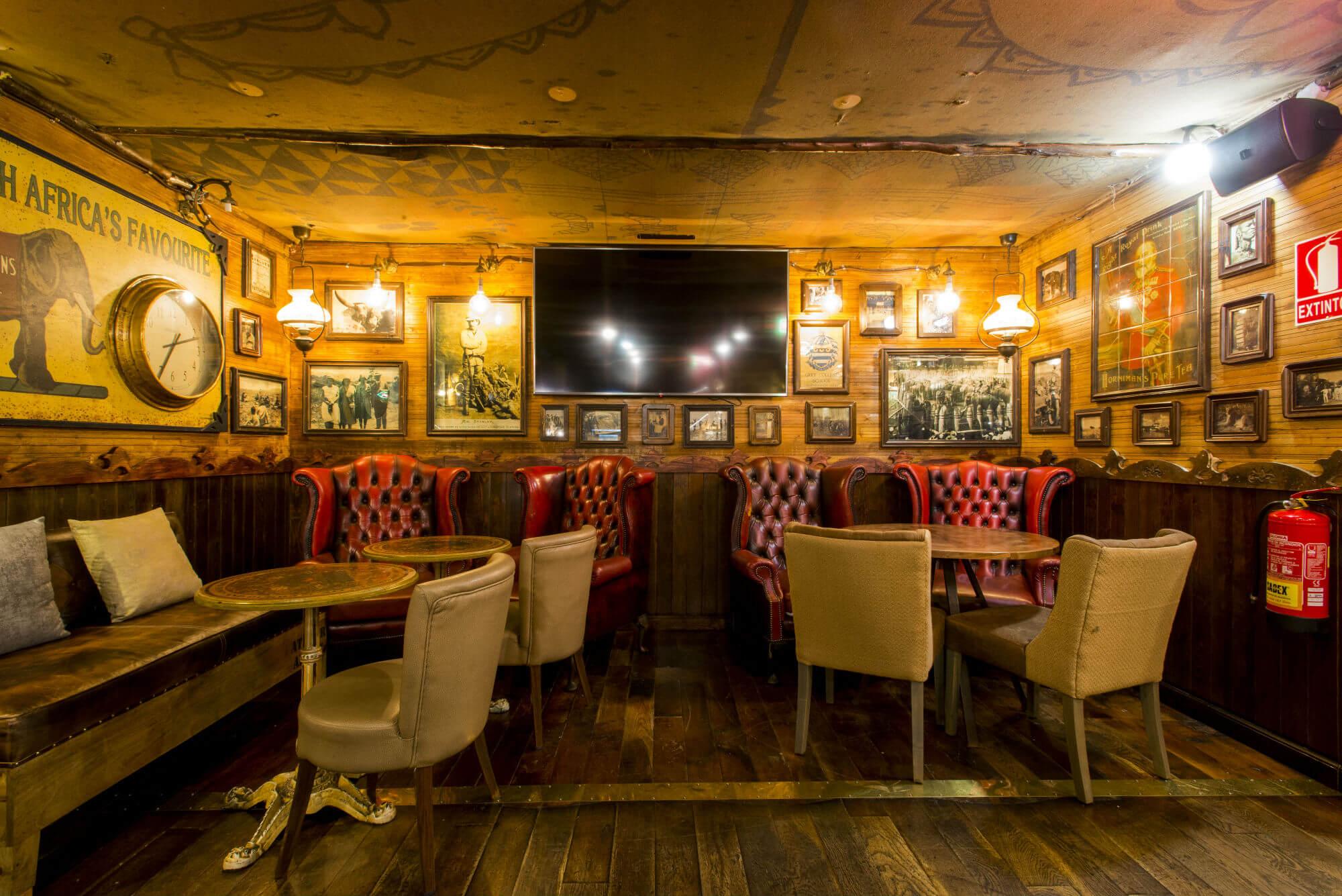 Interior Obama Pub
